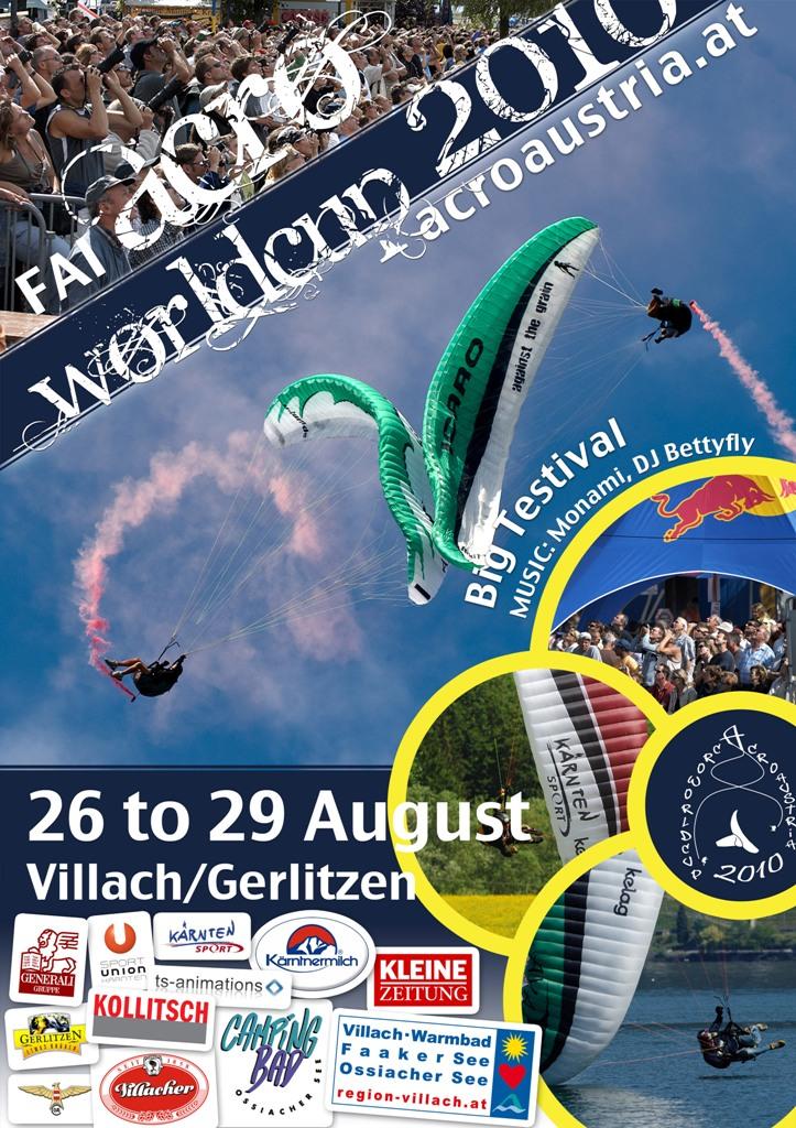 1. Acro Weltcup für Paragleiter in Kärnten