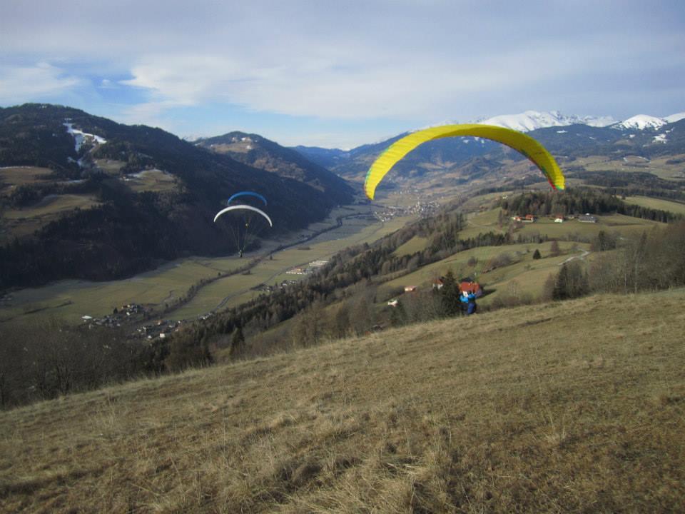 Gleitwinkelfliegen in St. Peter am Kammersberg
