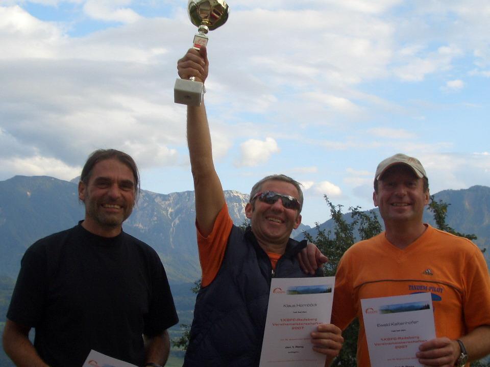 Vereinsmeisterschaften 2007
